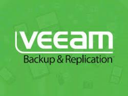 Backup incrementat 100GB folosind Veeam