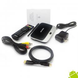 CS918 / Q7 Quad Core Android Mini PC TV Box 1.4Ghz RK3188 Full HD 1080p 2GB RAM 8GB ROM